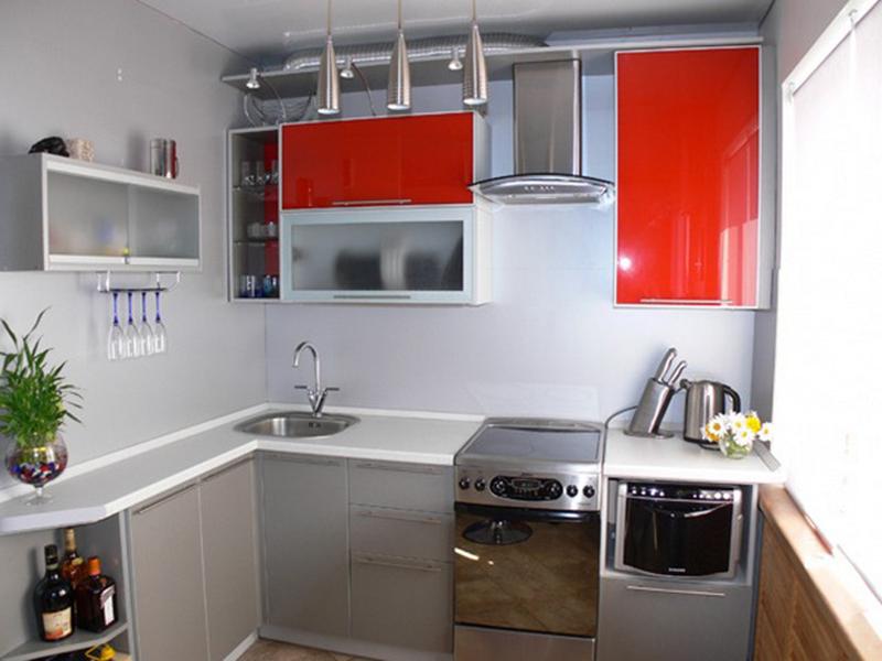 Идеи дизайн кухни 5 кв м